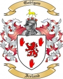 Gavigan Family Crest from Ireland