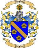Gaylard Family Coat of Arms from England