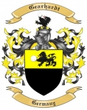 Gearhardt Family Crest from Germany