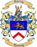 Gehring Family Crest from Germany2