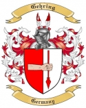 Gehring Family Crest from Germany