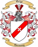 Geige Family Crest from Germany