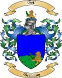 Geil Family Crest from Germany