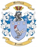 Geillart Family Coat of Arms from France