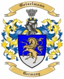 Geiselmann Family Crest from Germany