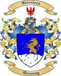 Geisslern Family Crest from Germany