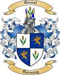 Genest Family Crest from Germany