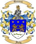 Genoese Family Crest from Italy