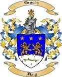 Genova Family Crest from Italy