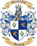 Gensterblom Family Coat of Arms from Germany