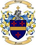 George Family Coat of Arms from France