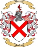 Gerald Family Coat of Arms from Ireland