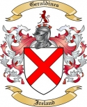 Geraldines Family Crest from Ireland