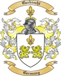 Gerbrecht Family Coat of Arms from Germany