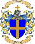 Geret Family Coat of Arms from Holland