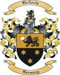 Gerhartz Family Crest from Germany