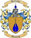 Gerlacher Family Crest from Germany
