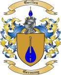 Gerlien Family Crest from Germany