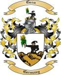 Gern Family Crest from Germany2