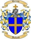 Gerrets Family Coat of Arms from Holland