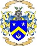 Gertin Family Crest from France