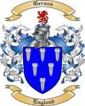 Geruas Family Coat of Arms from England