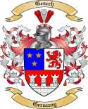 Gescch Family Coat of Arms from Germany