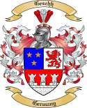 Geschh Family Crest from Germany