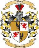 Gess Family Crest from Germany