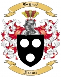 Geyard Family Crest from France2