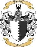 Ghirigori Family Coat of Arms from Italy
