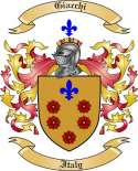 Giacchi Family Crest from Italy