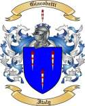 Giacobetti Family Crest from Italy