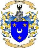 Giacomo Family Coat of Arms from Italy2