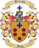 Giacomo Family Crest from Italy