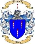 Giamalva Family Crest from Italy