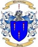 Giammona Family Crest from Italy