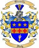 Gianella Family Crest from Italy2