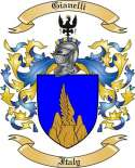 Gianelli Family Coat of Arms from Italy2
