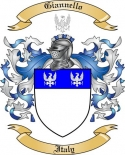 Giannello Family Coat of Arms from Italy2