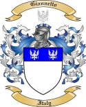Giannetto Family Coat of Arms from Italy2