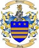 Gianni Family Crest from Italy3