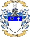 Giannini Family Crest from Italy2