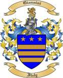 Giannini Family Crest from Italy3