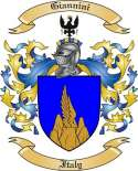 Giannini Family Crest from Italy