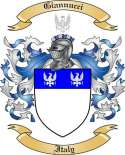 Giannucci Family Crest from Italy2