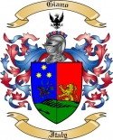 Giano Family Crest from Italy