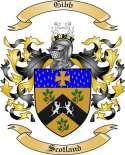 Gibb Family Coat of Arms from Scotland