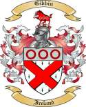 Gibbin Family Coat of Arms from Ireland