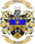 Gibbson Family Crest from Scotland2
